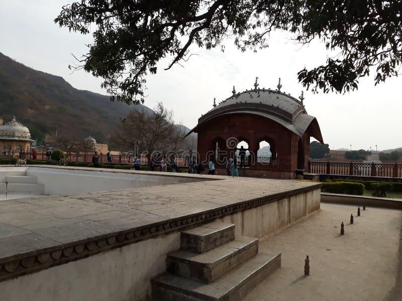 堡垒在Rajisthan 免版税库存照片