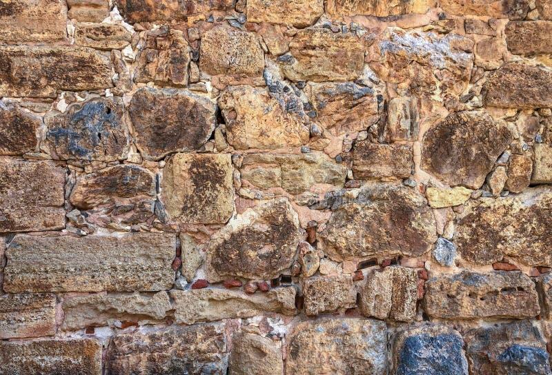 堡垒墙壁元素 库存图片