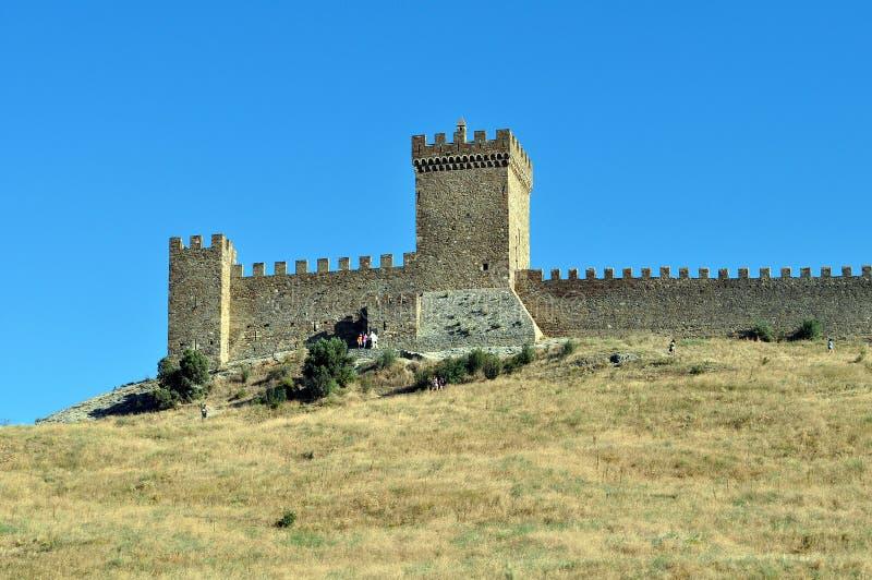堡垒墙壁 库存照片