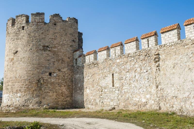 堡垒墙壁 免版税库存照片