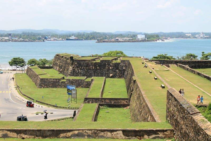 堡垒大风 库存照片