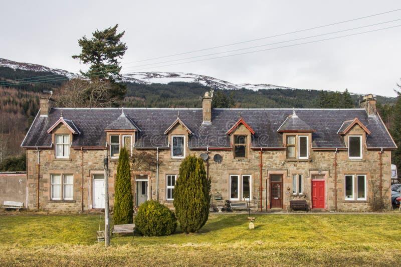 堡垒奥古斯都建筑学,苏格兰 图库摄影