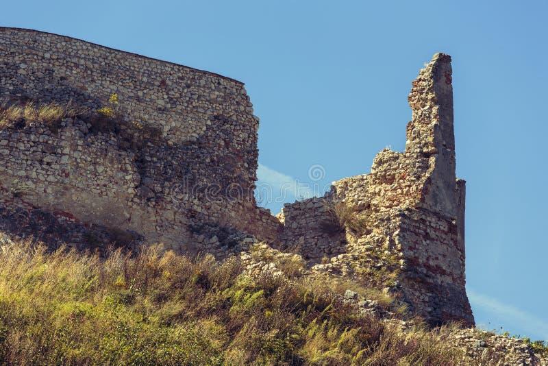 堡垒废墟 库存图片