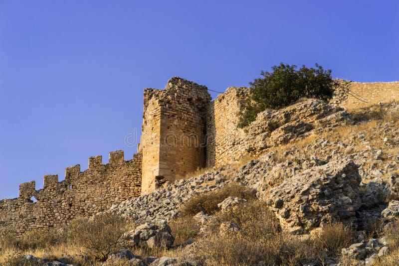 堡垒拉里萨 免版税库存照片