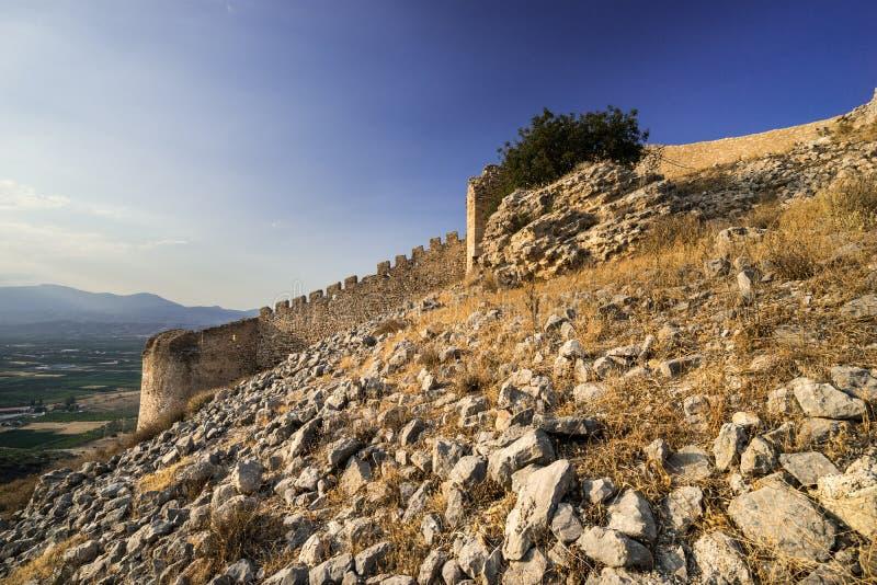 堡垒拉里萨 库存照片