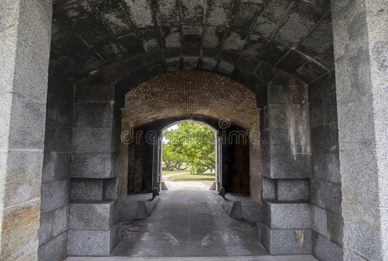 堡垒杰斐逊大门 免版税库存照片