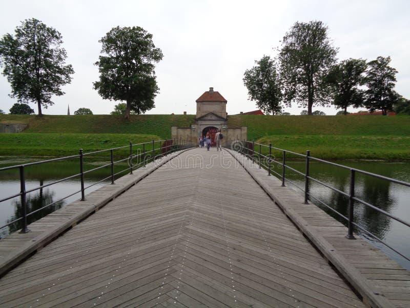堡垒桥梁 库存照片