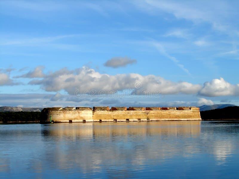堡垒海运 免版税库存图片