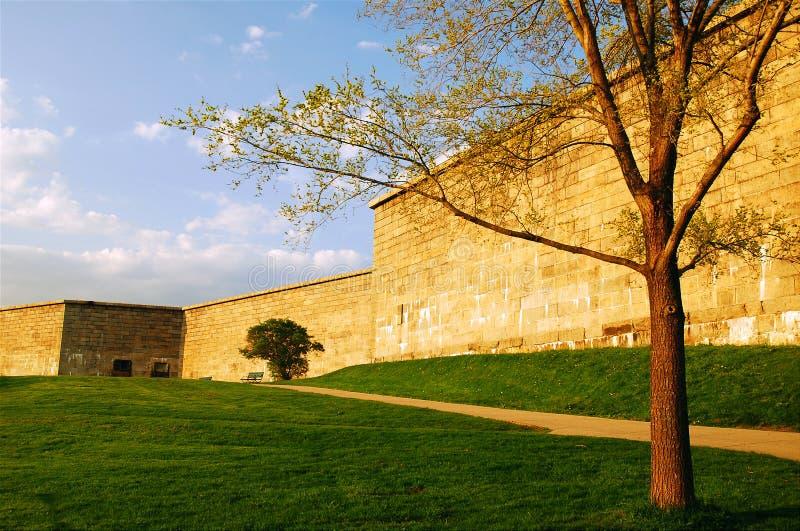 堡垒独立,南波士顿 免版税库存照片