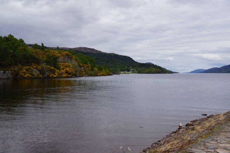 堡垒的奥古斯都尼斯湖 免版税库存图片