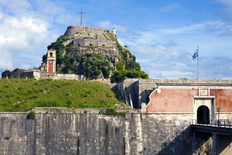 堡垒的门 免版税图库摄影