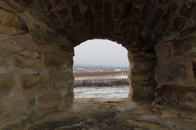 堡垒窗口 库存照片