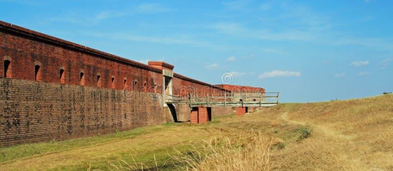 堡垒紧抱国家公园 库存照片