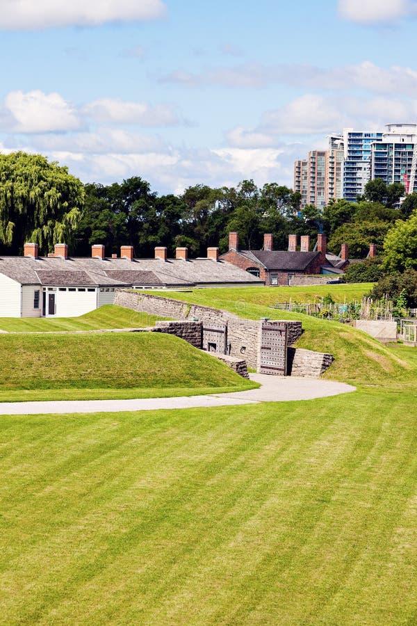 堡垒约克在多伦多 库存图片