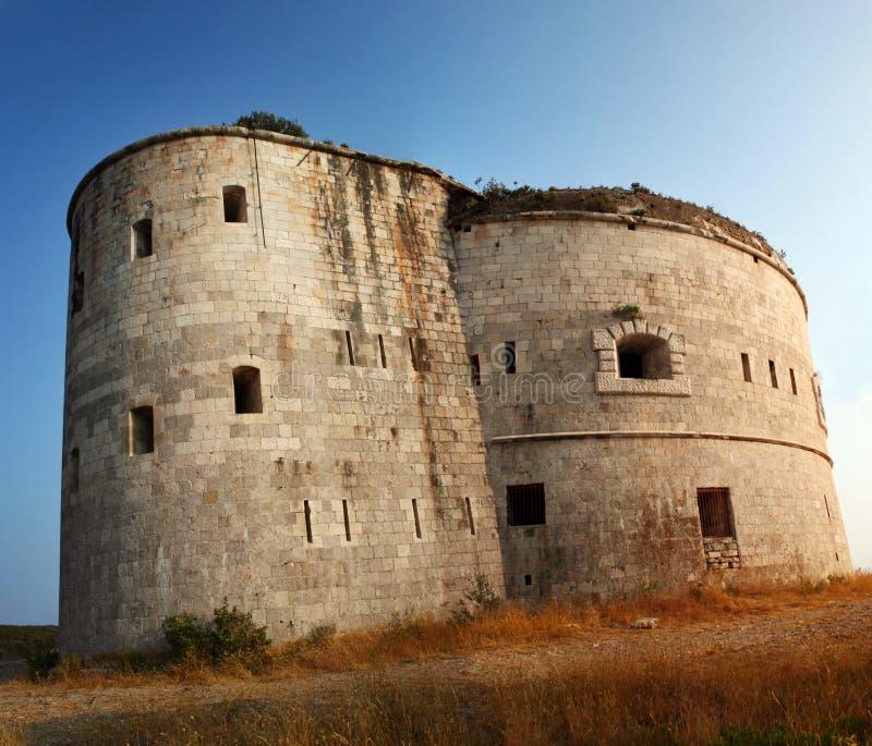 堡垒阿扎镇 图库摄影