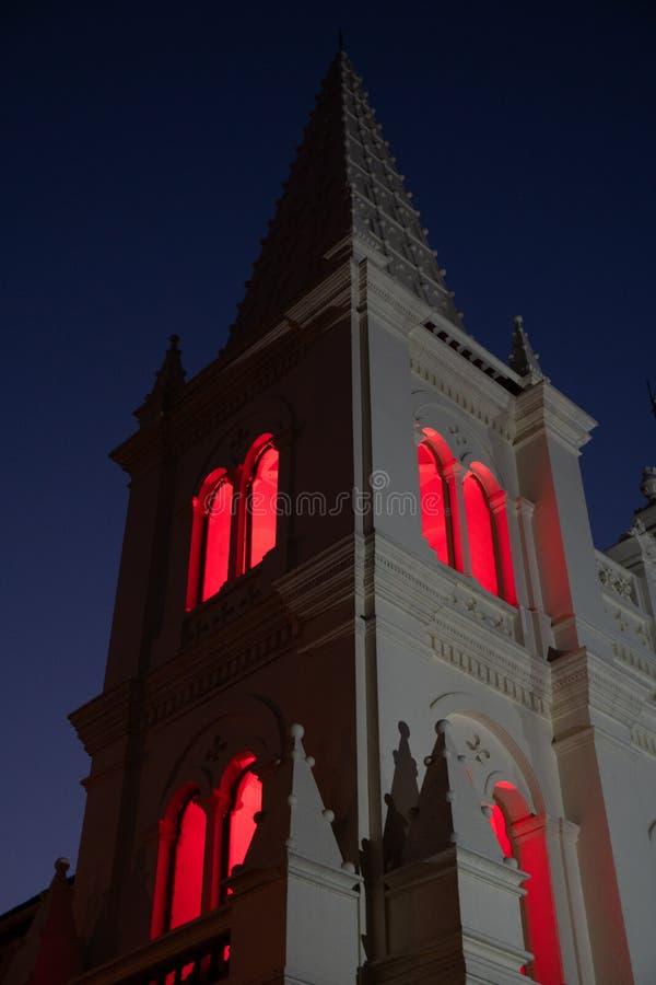 堡垒高知圣克鲁斯大教堂大教堂,高知 库存图片