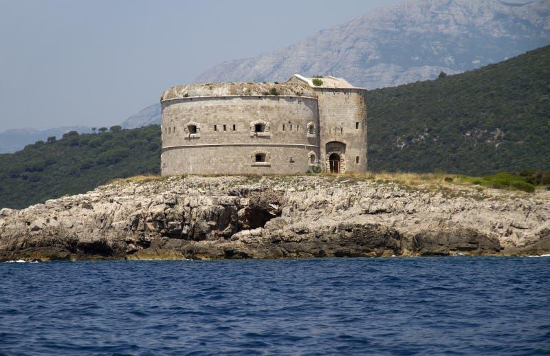 堡垒, Montenegro 免版税库存照片