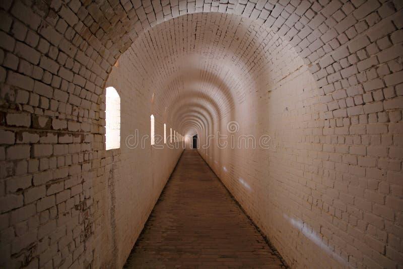 堡垒Barrancas内部 库存图片