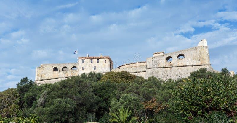 堡垒Carre墙壁在安地比斯 图库摄影