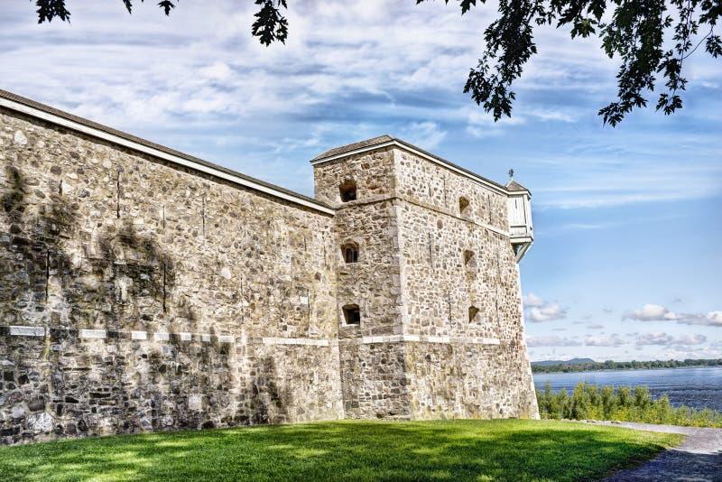 堡垒Chambly 库存照片
