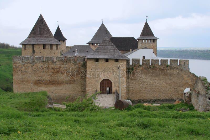 堡垒hotyn 库存照片