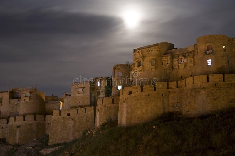 堡垒jaisalmer 免版税库存图片