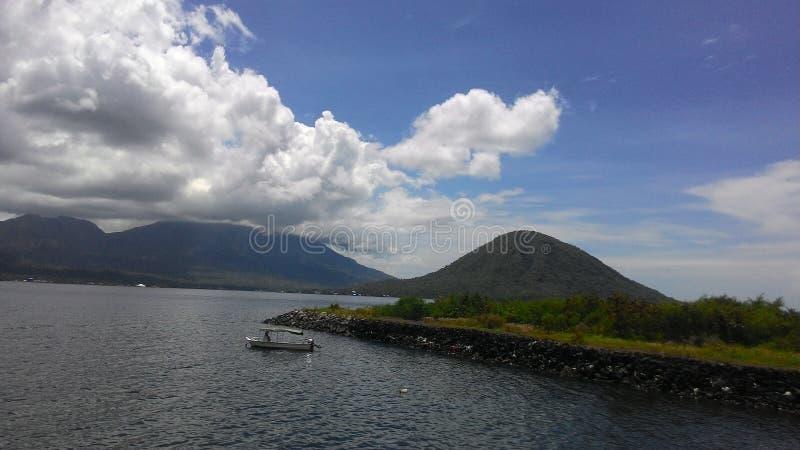 从堡垒kalumata的美好的风景 免版税图库摄影