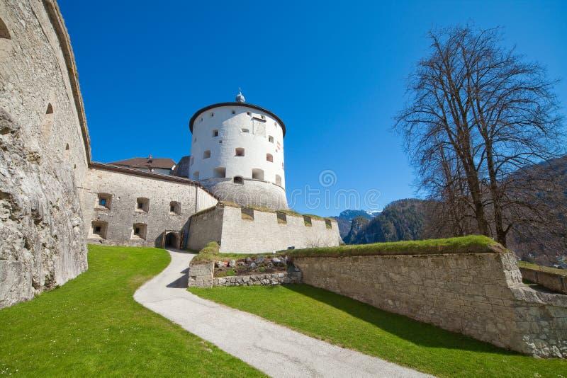堡垒kufstein 库存图片