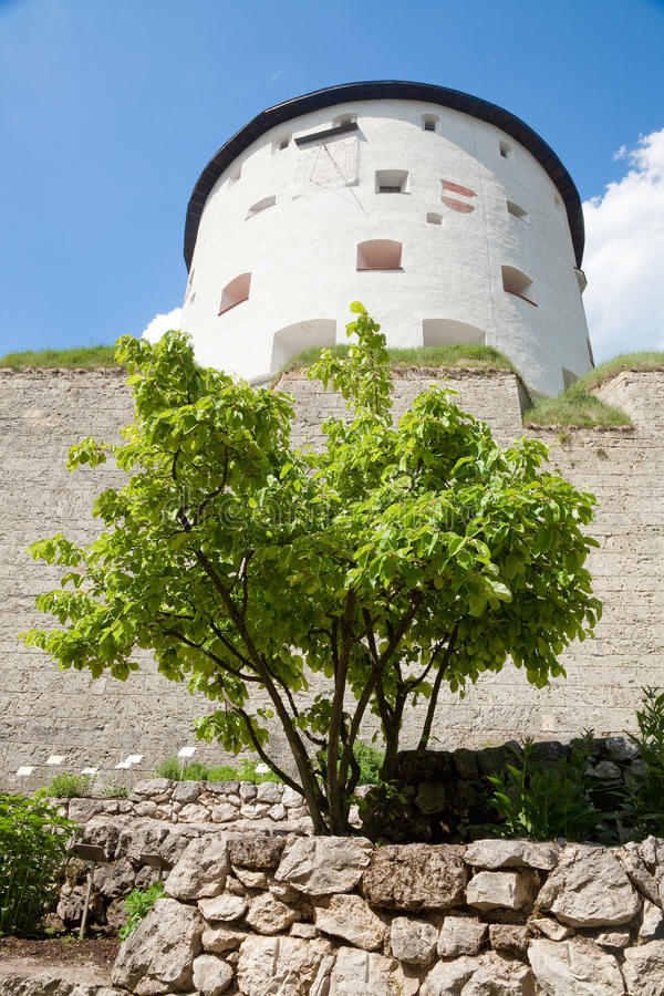 堡垒kufstein 免版税库存照片