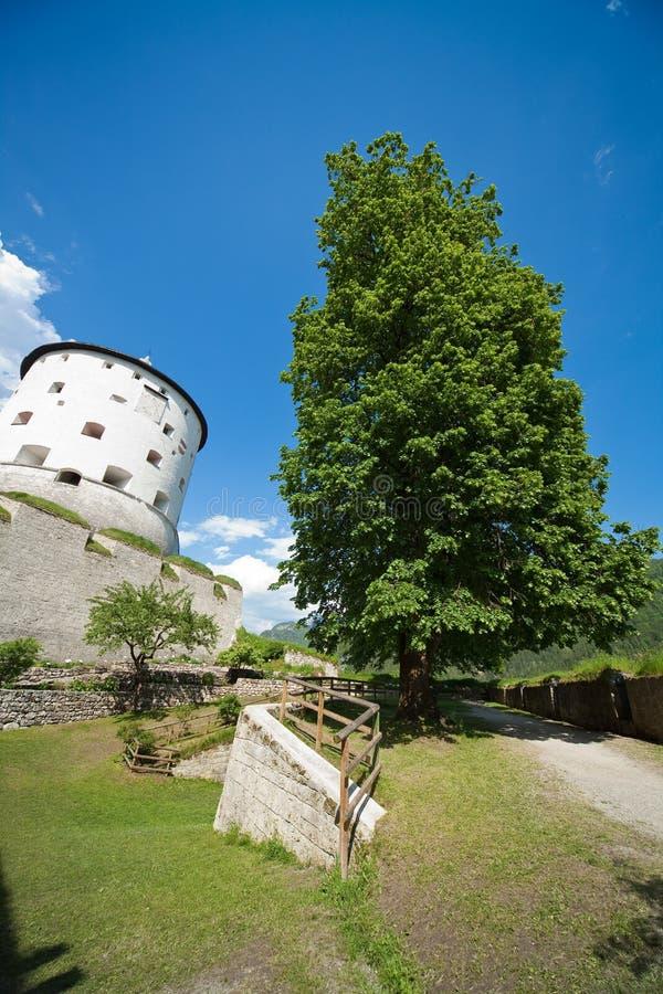 堡垒kufstein 图库摄影
