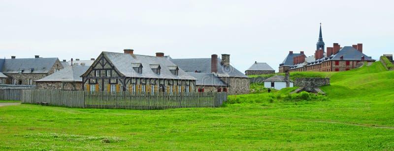 堡垒louisbourg 库存照片