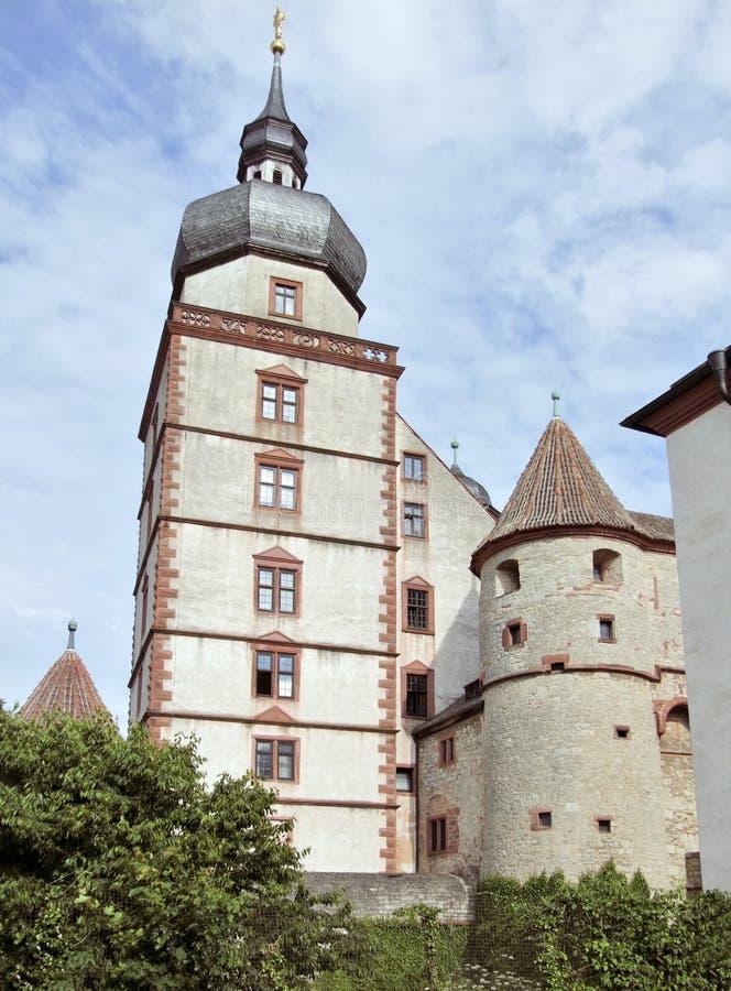 堡垒Marienberg 免版税库存照片