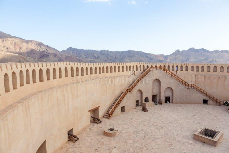 堡垒nizwa阿曼 图库摄影