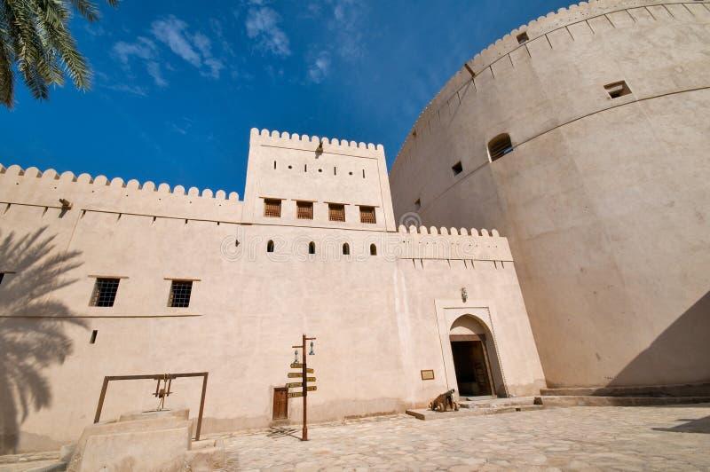 堡垒nizwa 库存照片