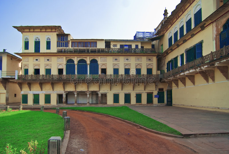 堡垒ramnagar瓦腊纳西 库存照片