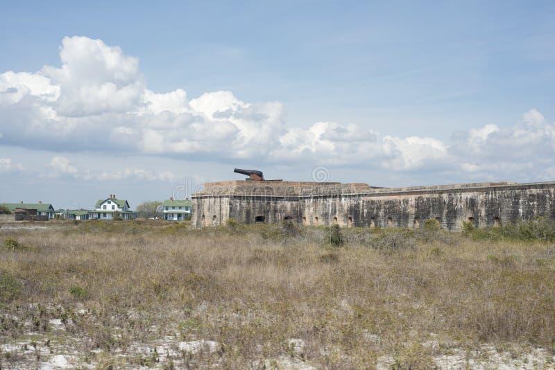 堡垒Pickens佛罗里达 免版税库存图片