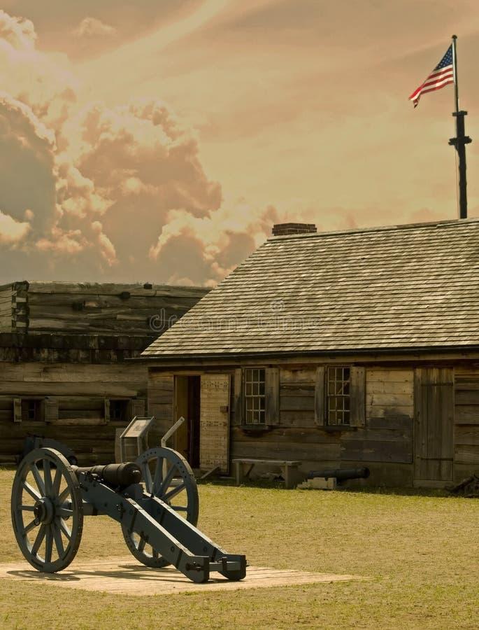 堡垒stanwix视图 免版税库存图片