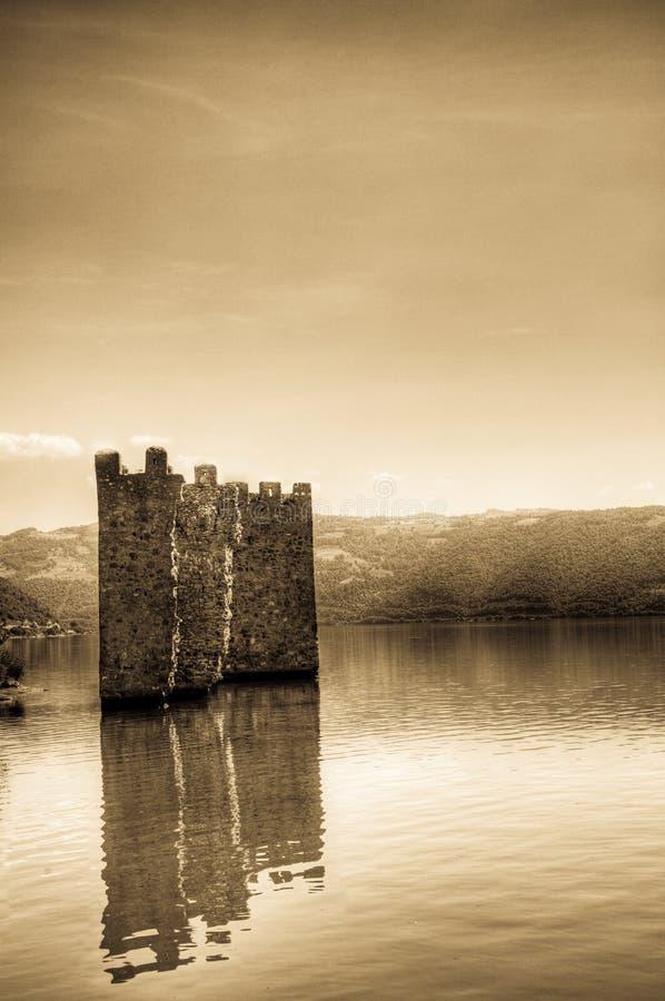堡垒tricule 免版税库存图片