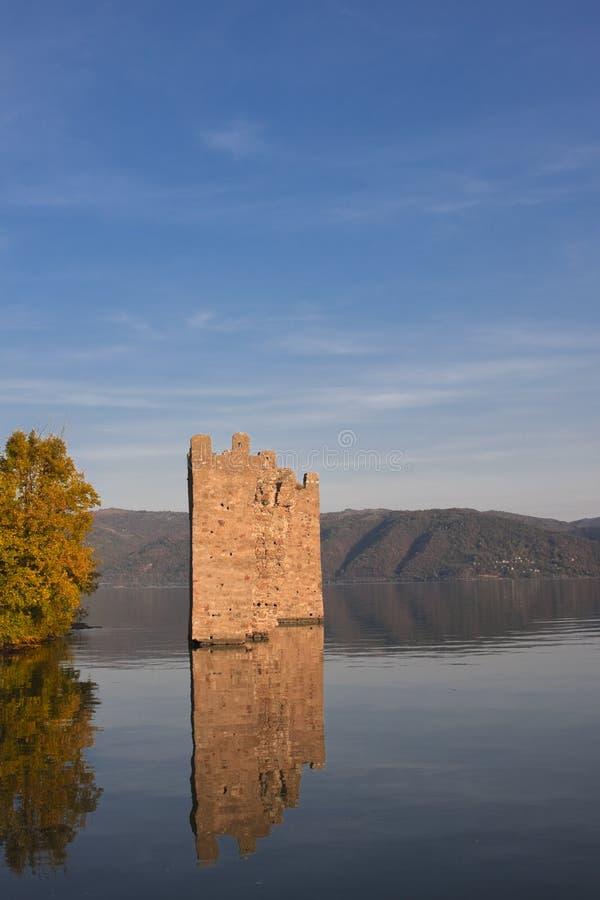 堡垒tricule 库存图片