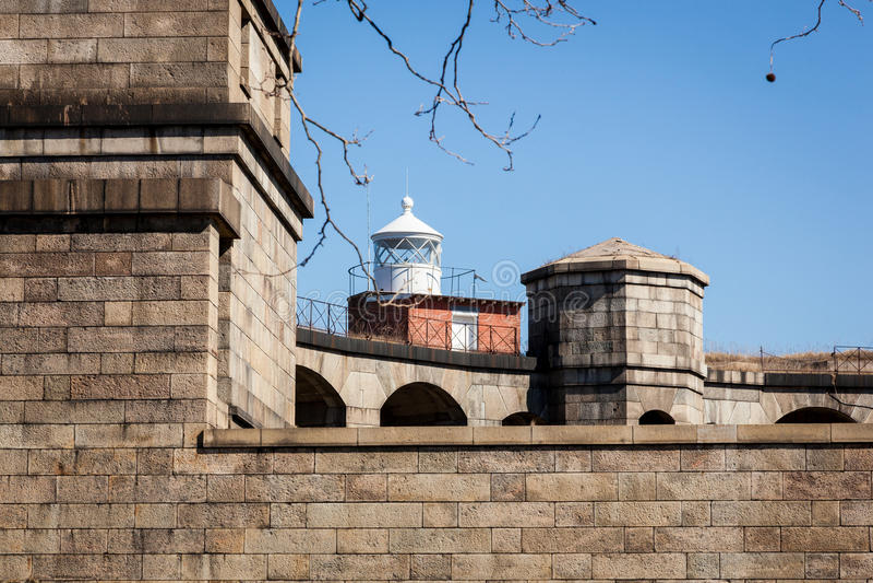 堡垒Wadsworth 免版税库存照片