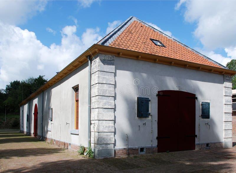 堡垒Wierickerschans。 库存照片