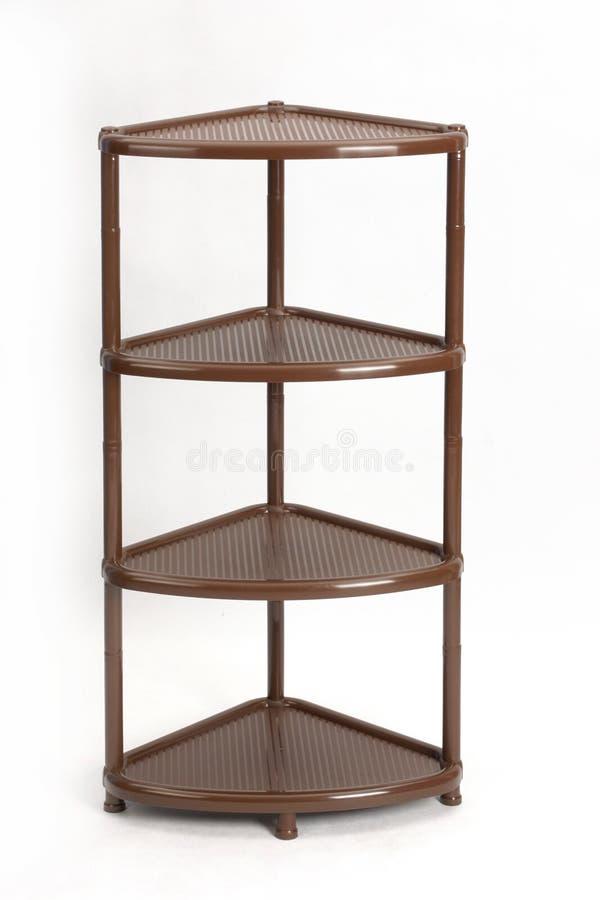 塑料可折叠家具 事的一个方便架子 免版税库存图片