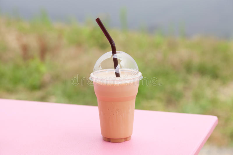 塑料咖啡杯 免版税库存照片