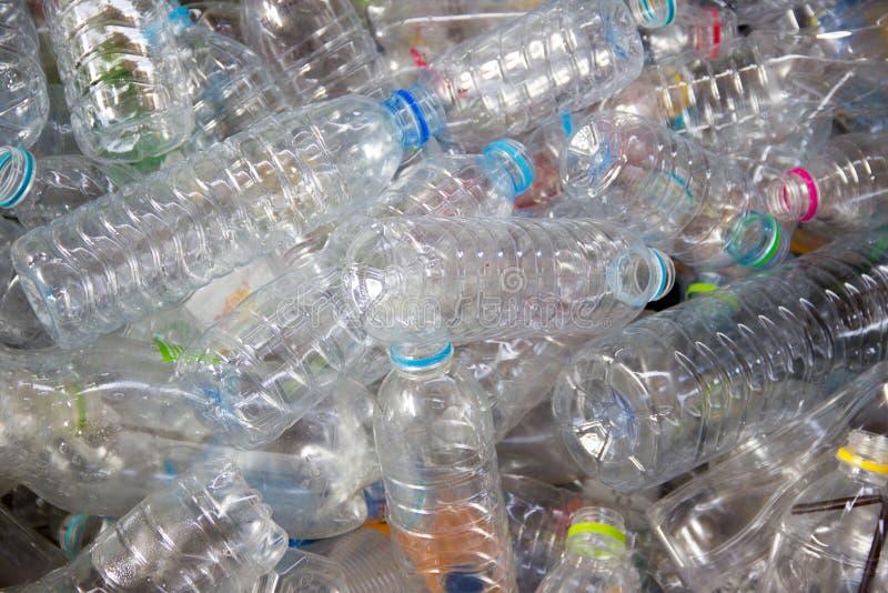 塑料宠物回收 库存图片