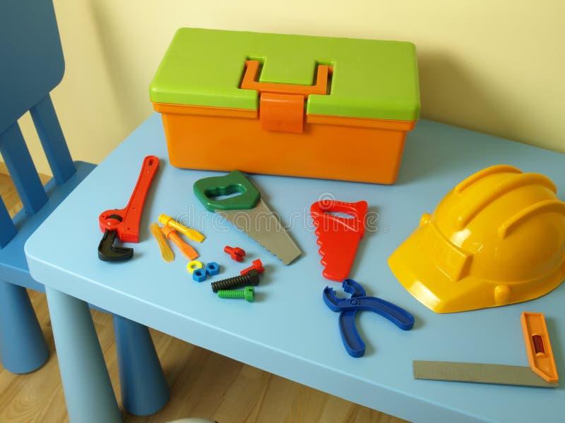塑料工具 免版税库存图片
