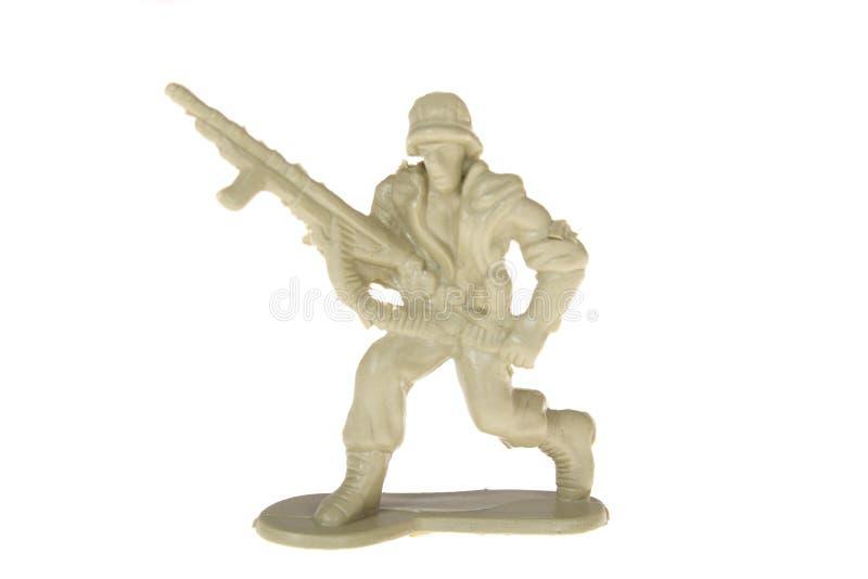 塑料战士玩具 免版税库存图片