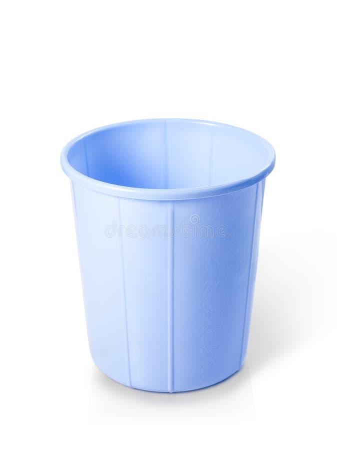 塑料拉圾箱 库存图片
