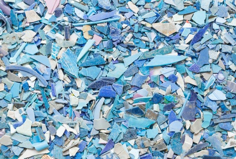 塑料树脂射击背景 免版税库存照片