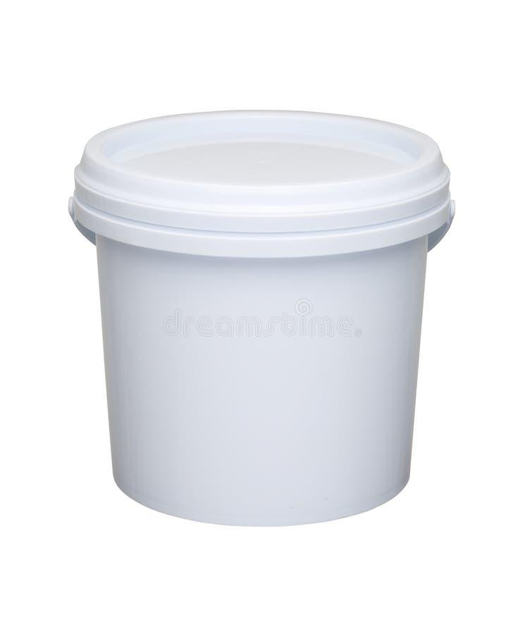 塑料桶 免版税库存照片