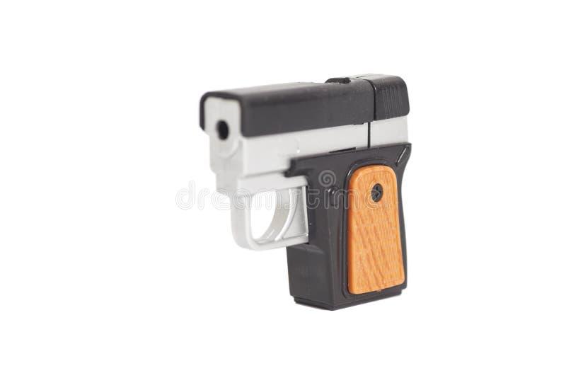 塑料玩具枪 免版税库存照片
